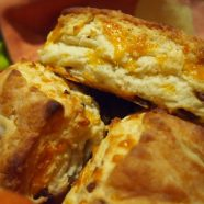 Savory Bacon Cheddar Biscuits