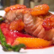 Pom-Citrus Salmon